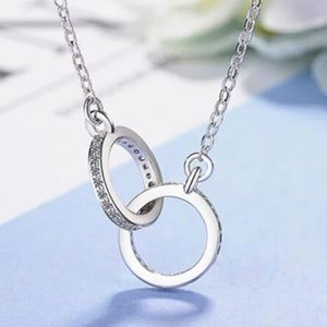 Jewelry - Sterling Silver CZ Necklace